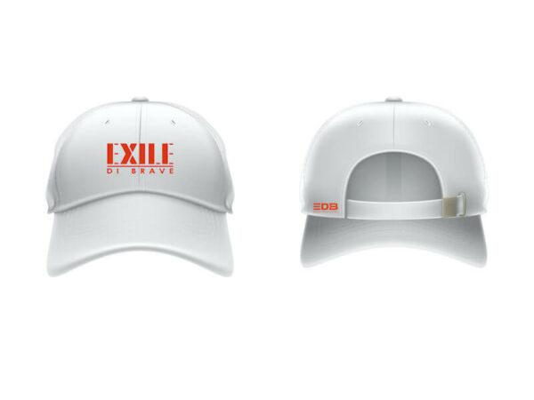 Exile di brave - Cap - white / black