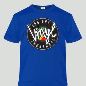 Vinyl Thursdays - T-Shirt - blue