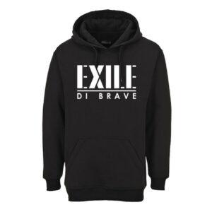 Exile di Brave - Hoodie black