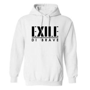 Exile di Brave - Hoodie white