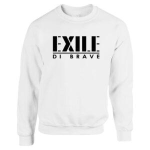 Exile di Brave - Pullover white